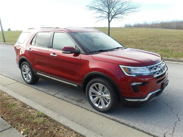 New 2019 Ford Explorer Limited Front-wheel Drive