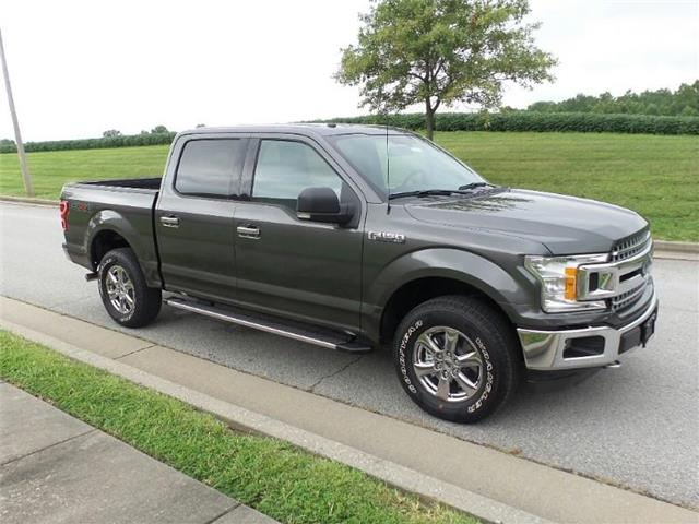 New 2018 Ford F-150 XLT 4x4 SuperCrew Cab Styleside 5.5 ft. box 145 in. WB