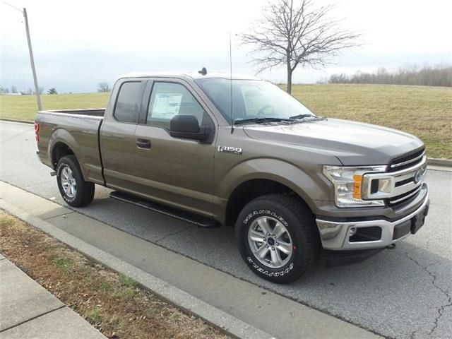 New 2019 Ford F-150 XLT 4x4 SuperCab Styleside 6.5 ft. box 145 in. WB