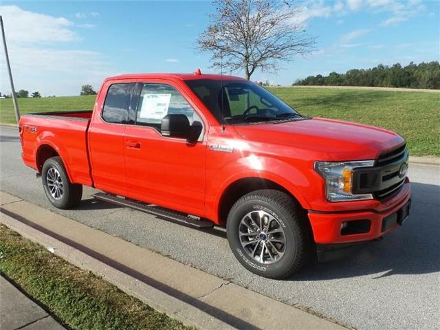 New 2018 Ford F-150 XLT 4x4 SuperCab Styleside 6.5 ft. box 145 in. WB