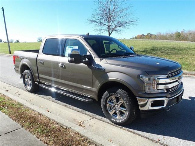 New 2018 Ford F-150 Lariat 4x4 SuperCrew Cab Styleside 5.5 ft. box 145 in. WB