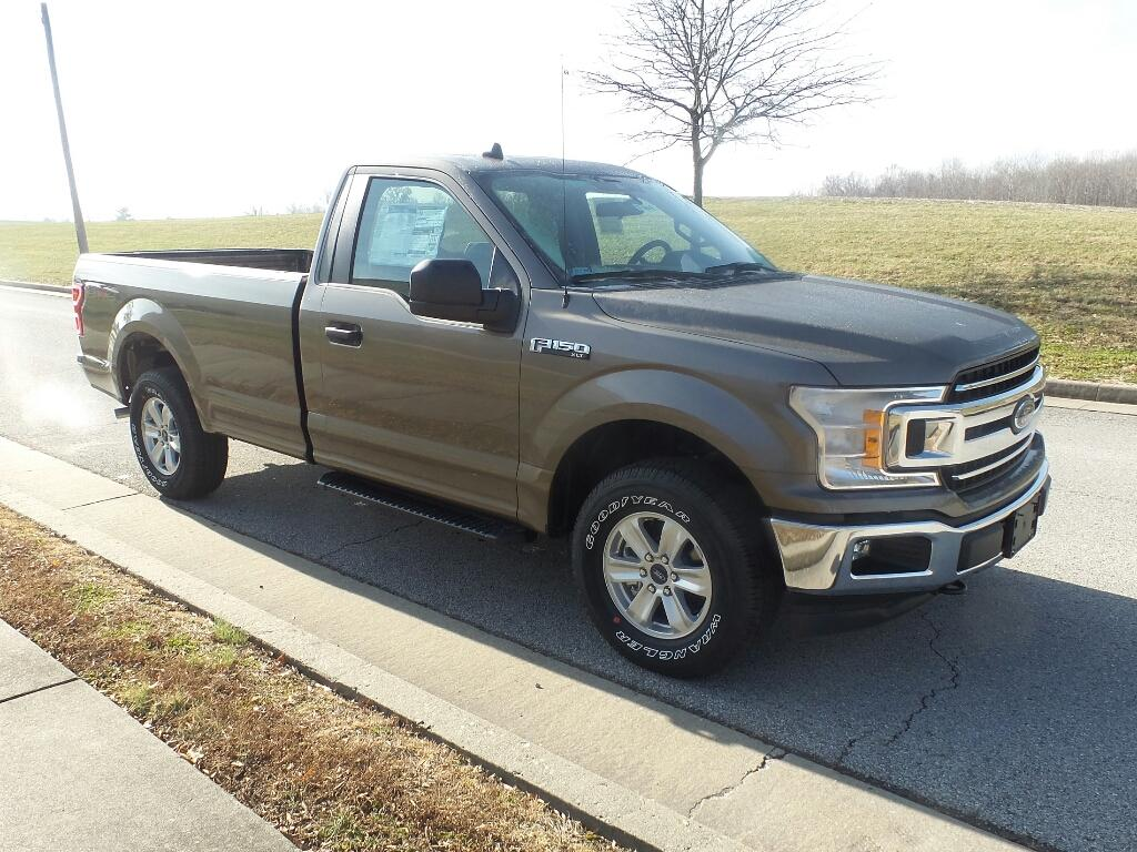 New 2019 Ford F-150 XLT 4x4 Regular Cab Styleside 8 ft  box 4WD