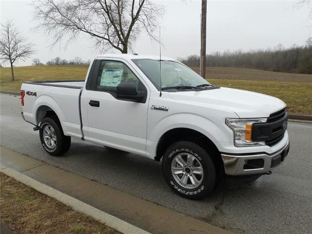 New 2019 Ford F-150 XL 4x4 Regular Cab Styleside 6.5 ft. box 122 in. WB