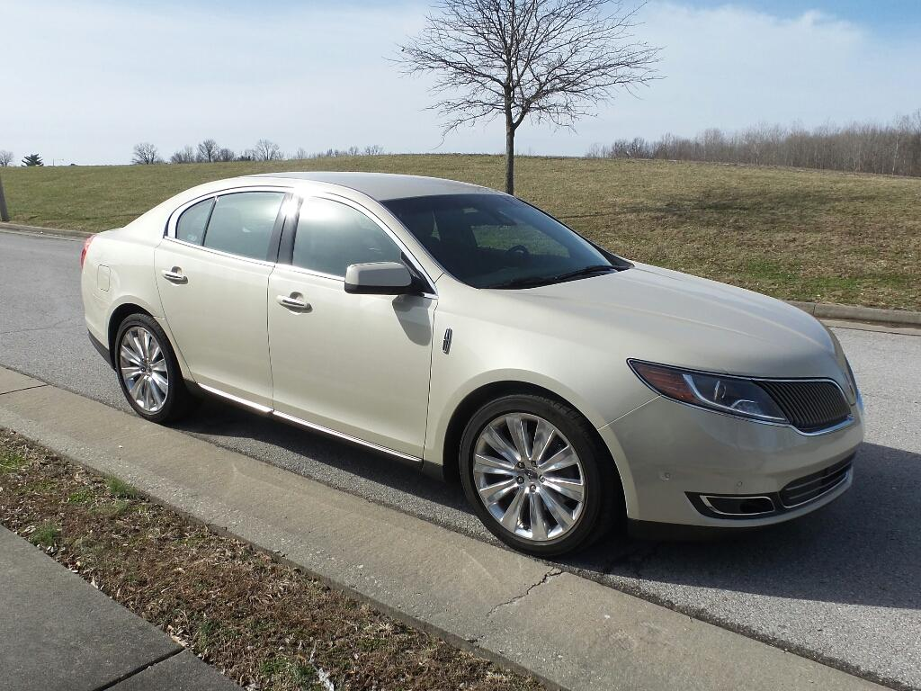 Pre-Owned 2015 Lincoln MKS EcoBoost All-wheel Drive Sedan