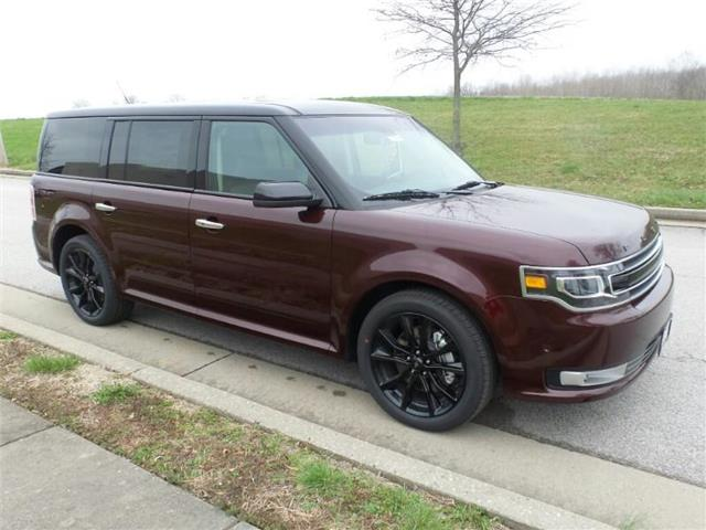 New 2018 Ford Flex Limited w/EcoBoost All-wheel Drive