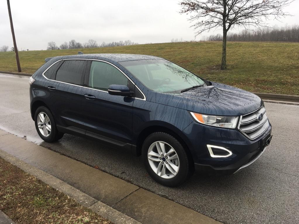 Pre-Owned 2017 Ford Edge SEL All-wheel Drive