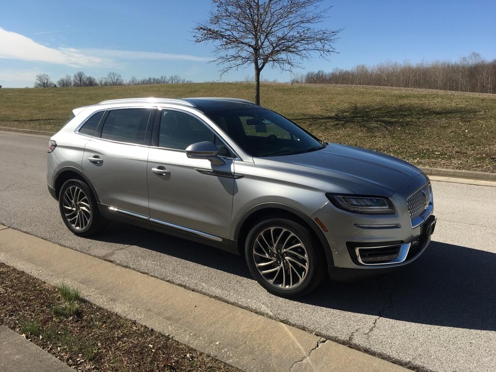 New 2020 Lincoln Nautilus Reserve Front-wheel Drive