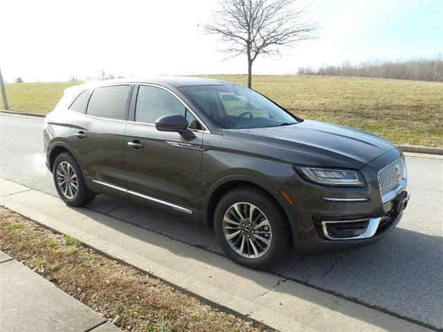 New 2019 Lincoln Nautilus Select Front Wheel Drive Fwd Select In