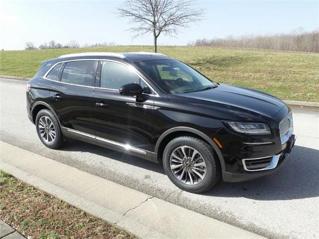 New 2019 Lincoln Nautilus Select Front-wheel Drive