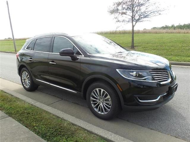 New 2018 Lincoln MKX Select All-wheel Drive