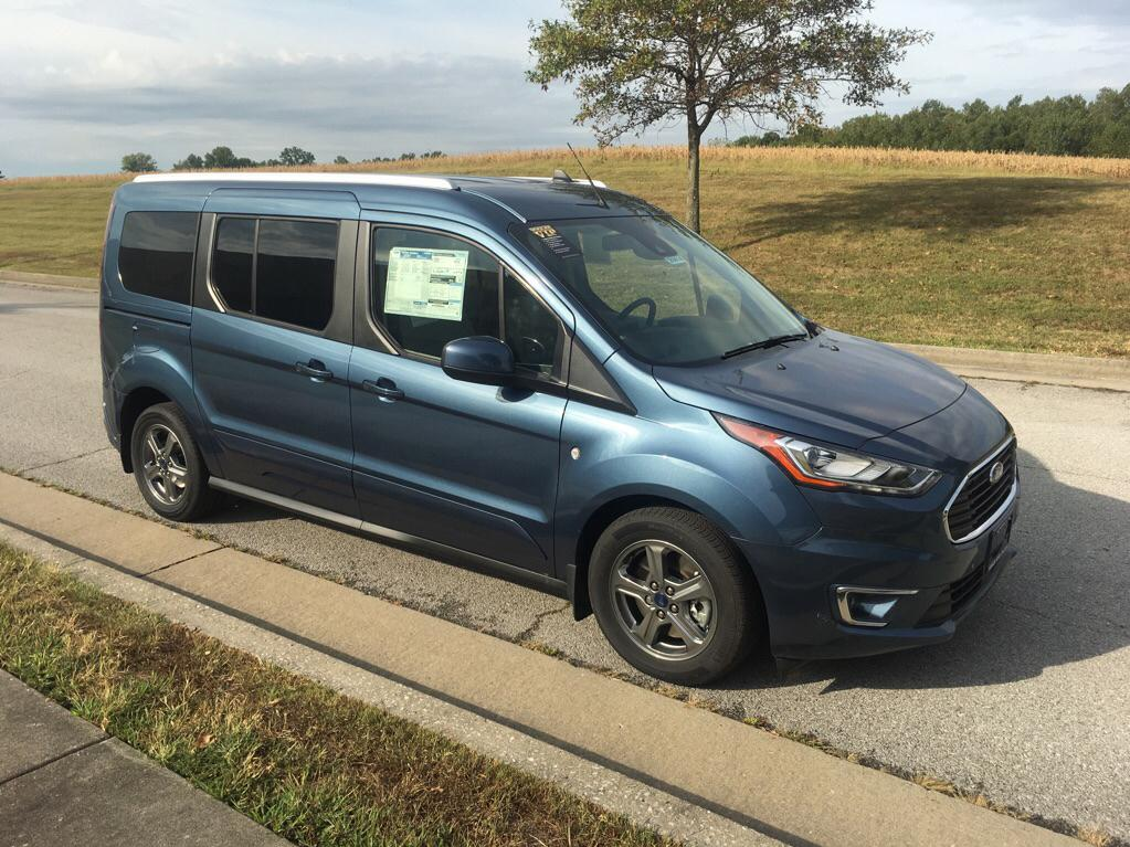 Ford Transit Van >> New 2020 Ford Transit Connect Titanium W Rear Liftgate Passenger Wagon Fwd Van