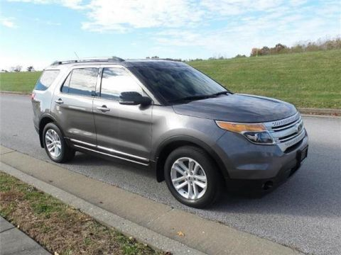 Pre-Owned 2013 Ford Explorer XLT Front-wheel Drive