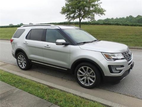 Pre-Owned 2017 Ford Explorer Limited Front-wheel Drive Front Wheel Drive UT