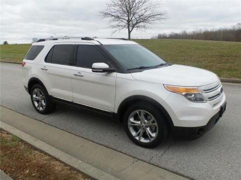 Pre-Owned 2015 Ford Explorer Limited Front-wheel Drive