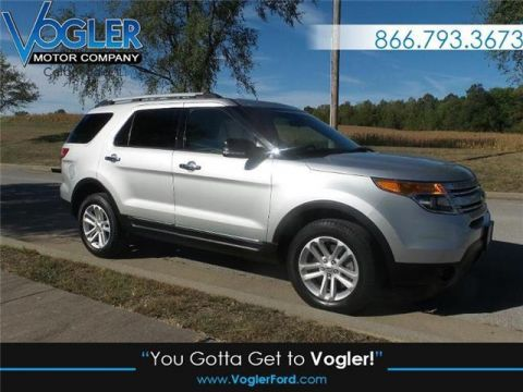 Pre-Owned 2015 Ford Explorer XLT 4x4 Four Wheel Drive UT