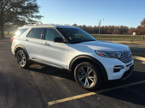 New 2020 Ford Explorer Platinum 4x4