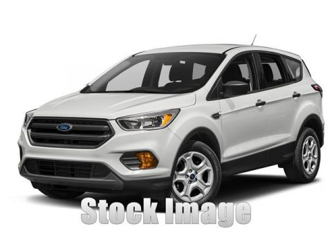 New 2018 Ford Escape S Front-wheel Drive Front Wheel Drive UT