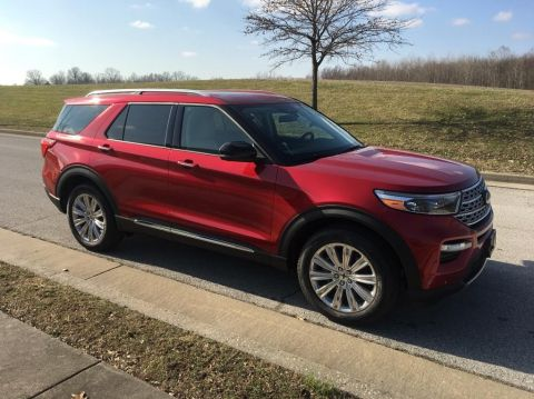 New 2020 Ford Explorer Limited 4x4