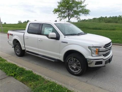 New 2019 Ford F-150 Lariat 4x4 SuperCrew Cab Styleside 5.5 ft. box 145 in. WB