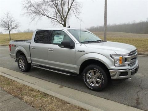New 2019 Ford F-150 XLT 4x4 SuperCrew Cab Styleside 5.5 ft. box 145 in. WB