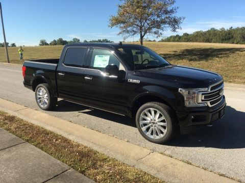 New 2019 Ford F-150 Limited 4x4 SuperCrew Cab Styleside 5.5