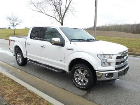 Pre-Owned 2016 Ford F-150 Lariat 4x4 SuperCrew Cab Styleside 6.5 ft. box 157 in. WB