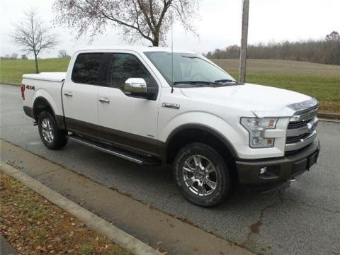Pre-Owned 2015 Ford F-150 Lariat 4x4 SuperCrew Cab Styleside 5.5 ft. box 145 in. WB