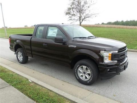 New 2018 Ford F-150 XL 4x4 SuperCab Styleside 6.5 ft. box 145 in. WB