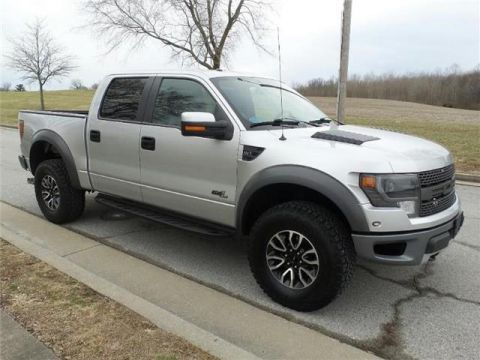 Pre-Owned 2014 Ford F-150 SVT Raptor 4x4 SuperCrew Cab Styleside 5.5 ft. box 145 in. WB