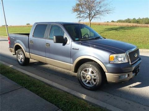 Pre-Owned 2005 Ford F-150 SuperCrew Lariat 4x2 Styleside 5.5 ft. box 139 in. WB