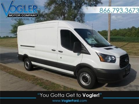 New 2018 Ford Transit-250 w/Sliding Pass-Side Cargo Door Medium Roof Cargo Van 148 in. WB