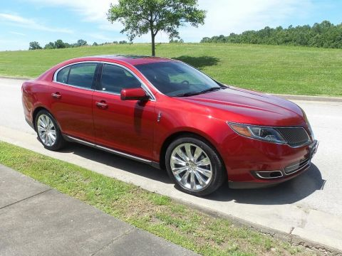Pre-Owned 2016 Lincoln MKS EcoBoost All-wheel Drive Sedan