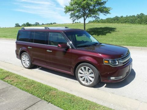 Pre-Owned 2019 Ford Flex Limited w/EcoBoost All-wheel Drive