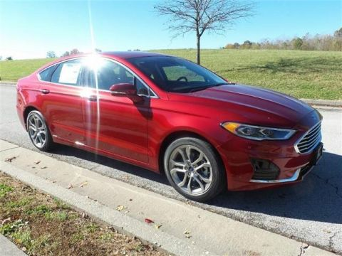New 2019 Ford Fusion SEL Front-wheel Drive Sedan