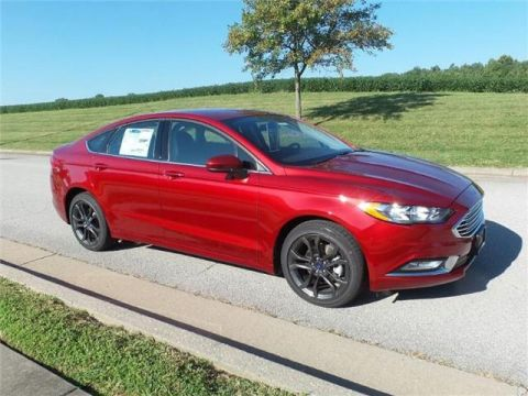 New 2018 Ford Fusion S Front-wheel Drive Sedan