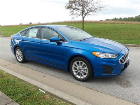 New 2019 Ford Fusion SE Front-wheel Drive Sedan