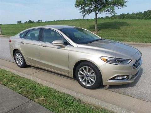 Pre-Owned 2017 Ford Fusion SE Front-wheel Drive Sedan Front Wheel Drive SD