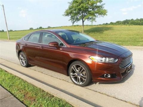 Pre-Owned 2016 Ford Fusion Titanium Front-wheel Drive Sedan Front Wheel Drive SD