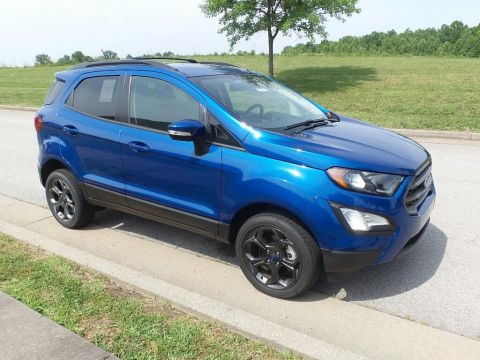 New 2018 Ford Ecosport SES 4x4 Sport Utility